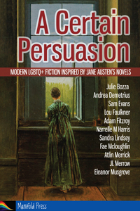 A Certain Persuasion cover - a woman in Regency dress looks out of a window